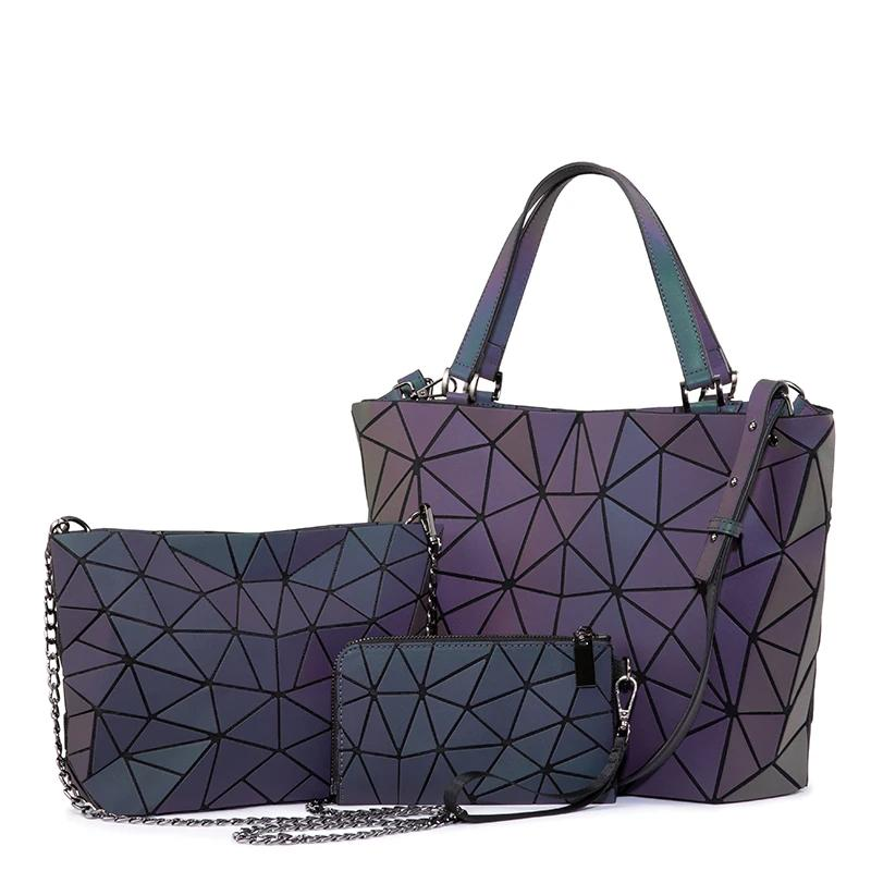 Luminous=Geometric=Handbag