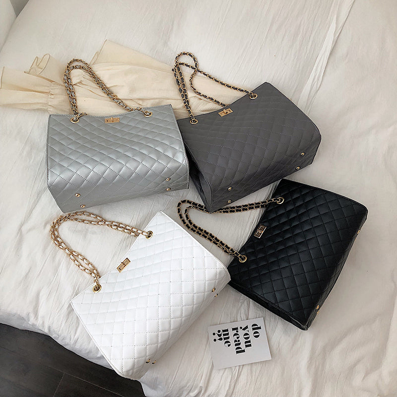Women Leather Handbags With Chain Strap