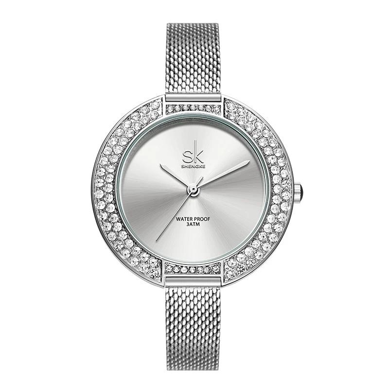 Diamond=Dial=Bracelet=Wristwatch=For=Women