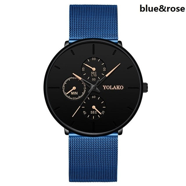 Luxury Mesh Belt Watch For Men