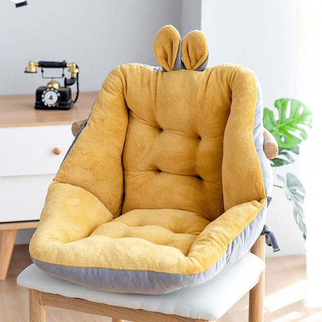 Semi Enclosed One Seat Cushion Chair Cushions Desk Seat Cushion Warm Comfort Seat Cushion Pad  office Chair seat cushions