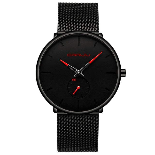 Men Ultra Thin Dial slim Watch