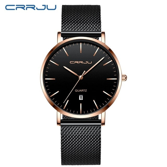 Mens Blue Dial Mesh Watches