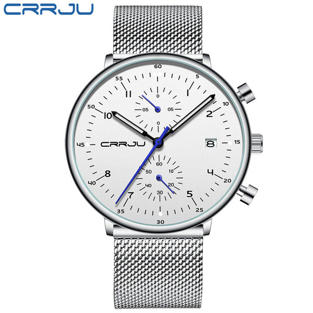 Men Stainless Steel WristWatch