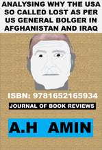 Load image into Gallery viewer, ISI and Afghan War COL IMAM AS I KNEW-BRIGADIER YASUB DOGAR