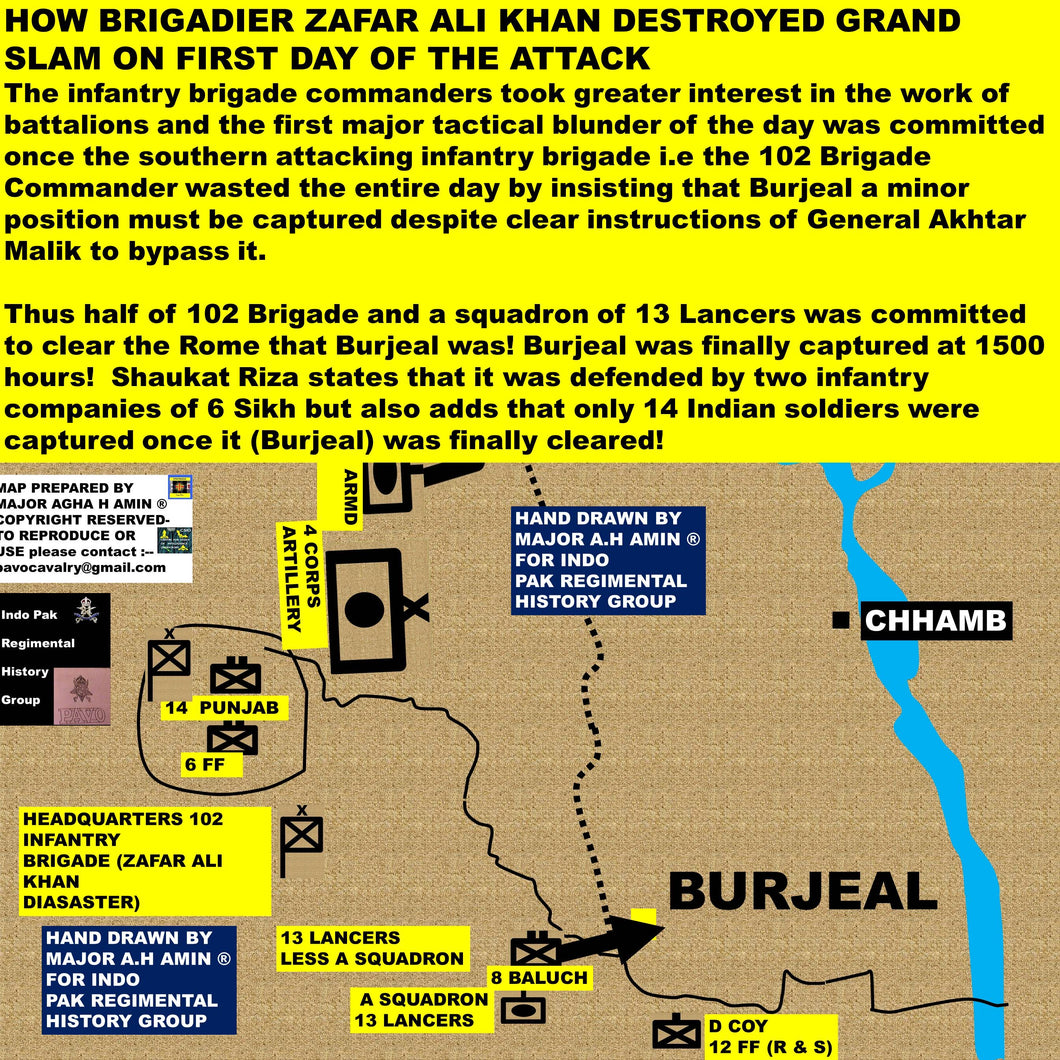 Operation grand slam destroyed by dumb brigade commander