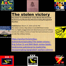 Load image into Gallery viewer, How #perceptions are #distorted HIGHLY EXAGGERATED AND #MISLEADING #BOOK WITH A #MISLEADING TITLE The stolen victory