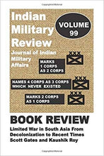 Load image into Gallery viewer, ‪Indian# Military #Review- #Journal of #Indian #Military Affairs: Book Review of Lim... https://www.amazon.com/dp/1726011720/ref=cm_sw_r_tw_awdb_t1_x_T8..Eb6TFFPZP via @amazon‬