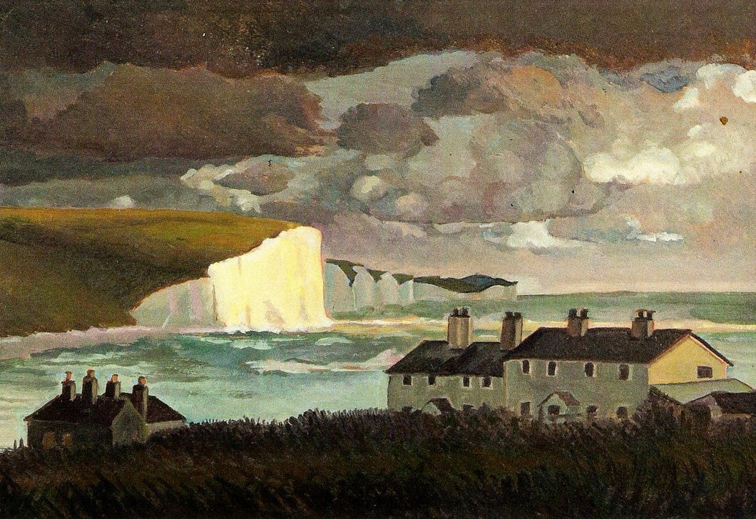 Coast Guard Cottages, Cuckmere, 1947 by Peggy Angus