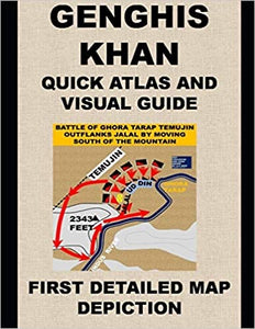 #GENGHIS #KHAN QUICK #ATLAS AND #VISUAL #GUIDE: FIRST DETAILED #MAP #DEPICTION large variety of #books #mongolia #military #leadership #decisionmaking #changez