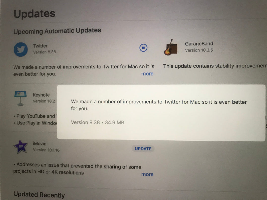 Total Mac failure - Twitter app not opening since last 75 hours