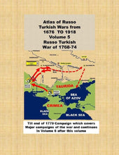Load image into Gallery viewer, #Atlas of #Russo #Turkish #wars