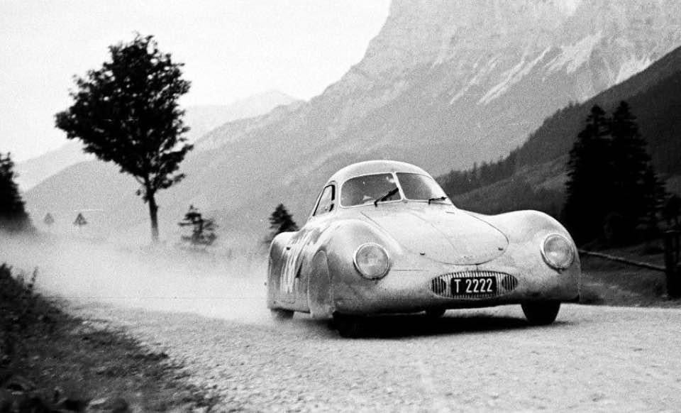 Porsche classics treated crudely by Americans although west Germany became a US Chattel