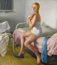 Load image into Gallery viewer, Mensch ohne Musil Dame Laura Knight, Dressing, 1929.