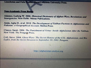 ‪OUR #BOOK LISTED IN #AFGHANISTAN #ANALYST #BIBLIOGRAPHY https://www.academia.edu/43629229/OUR_BOOK_LISTED_IN_AFGHANISTAN_ANALYST_BIBLIOGRAPHY via @academia‬