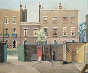 "I thought I'd start today with a great favourite of mine. This is ""Coborn Street, Bow"" by Harold Steggles from 1930."