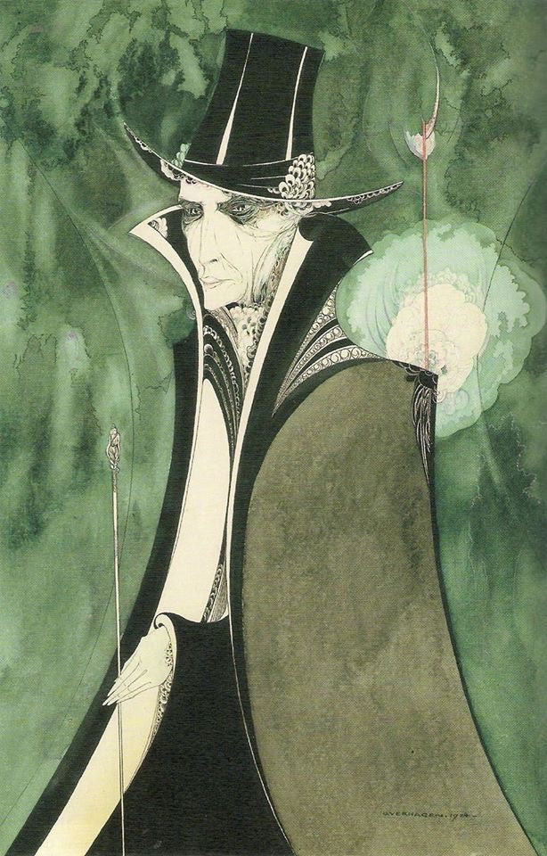 'Dorian Gray' 1924 by Otto Verhagen (1885-1951) Dutch