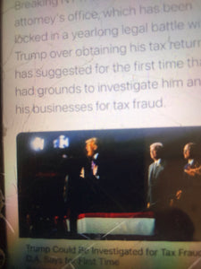 Trump Could Be Investigated for Tax Fraud,