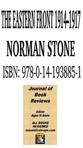 Norman stone on Russo German war