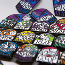Load image into Gallery viewer, Board Game Genre Enamel Pins