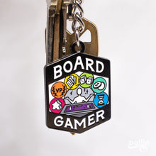 Load image into Gallery viewer, Board Gamer Keychain