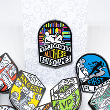 Load image into Gallery viewer, B-GRADE Board Gamer-Isms Enamel Pins
