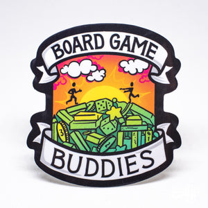 Board Game Buddies Sticker