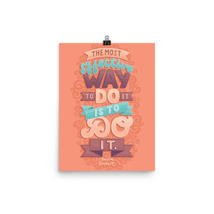The Most Effective Way to Do It Poster