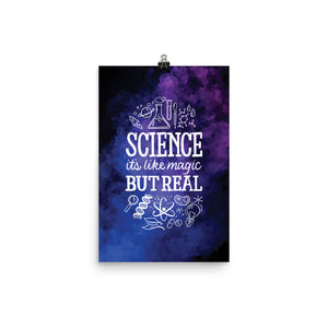 Science: Magic, but Real Poster