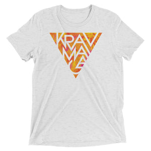 Krav Maga Hot Triangle Unisex Tri-Blend T-Shirt
