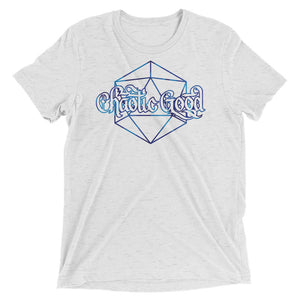 Chaotic Good Dice Tri-Blend T-Shirt
