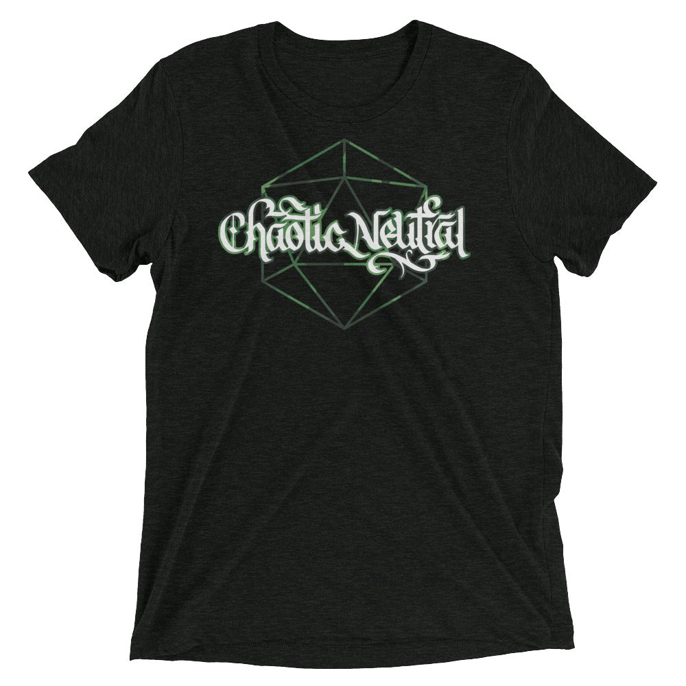 Chaotic Neutral Dice Tri-Blend T-Shirt