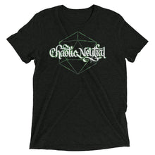 Load image into Gallery viewer, Chaotic Neutral Dice Tri-Blend T-Shirt