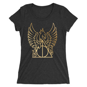 Golden Phoenix Hallows Women's Tri-Blend T-Shirt