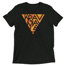 Load image into Gallery viewer, Krav Maga Hot Triangle Unisex Tri-Blend T-Shirt