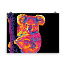 Load image into Gallery viewer, The Warm Rainbow Koala Poster