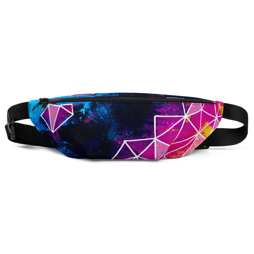 Galactic Shards Hip and Fanny Pack
