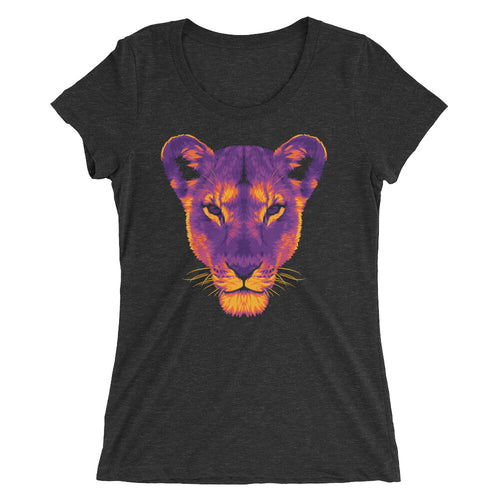The Dark Lioness Women's Tri-Blend T-Shirt