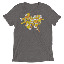 Load image into Gallery viewer, Pittsburgh Neighborhood Names Tri-Blend T-Shirt
