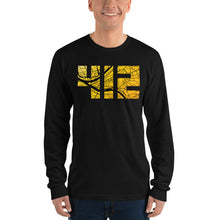 Load image into Gallery viewer, 412 Pittsburgh Map Long Sleeve T-Shirt