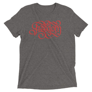 Freedom Red Tri-Blend T-Shirt