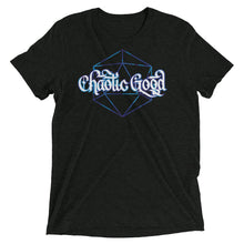 Load image into Gallery viewer, Chaotic Good Dice Tri-Blend T-Shirt