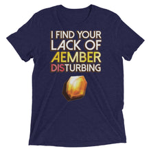 Load image into Gallery viewer, Lack of Aember Keyforge Tri-Blend T-Shirt
