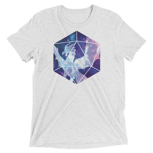 Dragon Soul D20 Tri-Blend T-Shirt