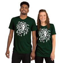Load image into Gallery viewer, Medusa Greek Mythology Scales Unisex Tri-Blend T-Shirt