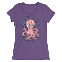 Load image into Gallery viewer, The Innocent Octopus Women's Tri-Blend T-Shirt
