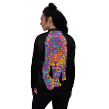Load image into Gallery viewer, The Color Jaguar Unisex Bomber Jacket
