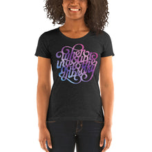 Load image into Gallery viewer, When In Doubt Go to the Library Women's Tri-Blend T-Shirt