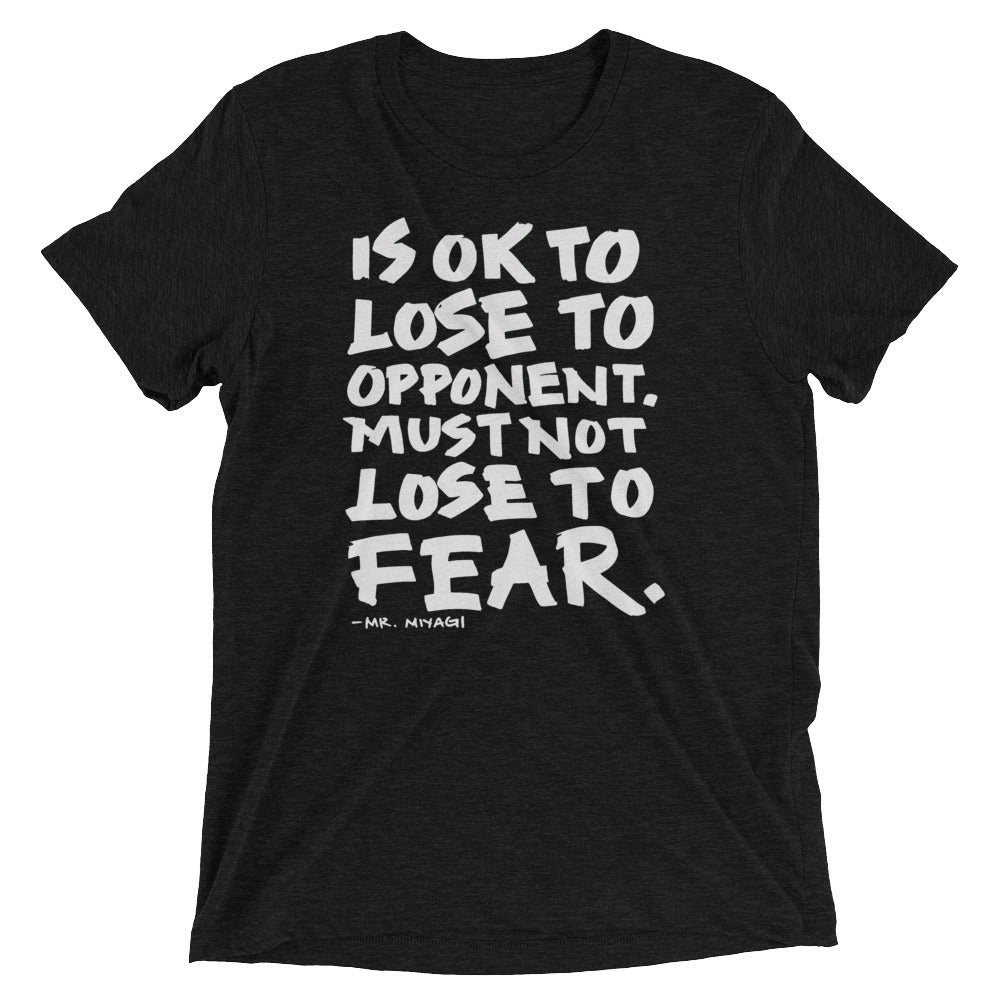 Is Ok To Lose to Opponent Tri-Blend T-Shirt
