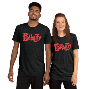 Equality Red Tri-Blend T-Shirt